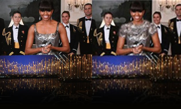 Michelle Obama's Oscar Dress Photoshopped And Censored In Iran