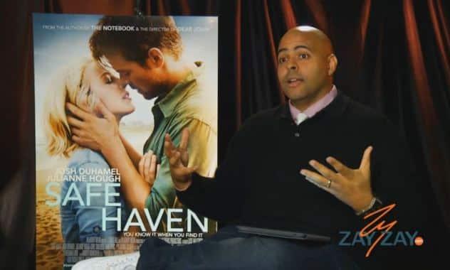 Julianne Hough, Josh Duhamel & Nicholas Sparks - Safe Haven - ZayZay.Com