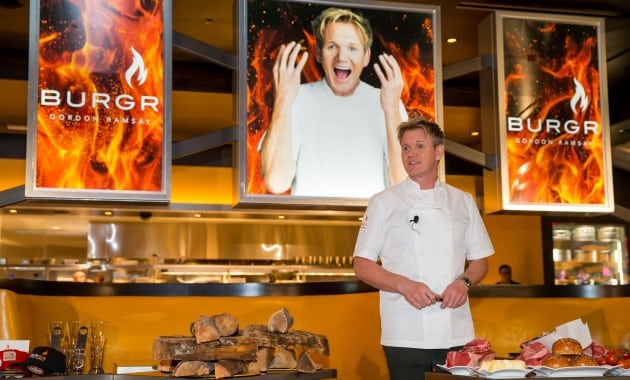 Gordon Ramsay Heads to Las Vegas Strip With a Double-Decker Bus and Traditional British Sunday Roast