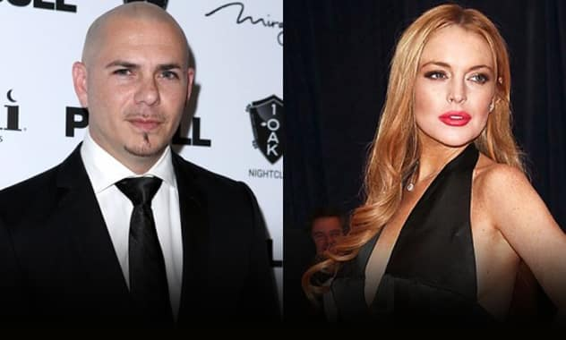Judge Sides With Pitbull Against Lohan's Lawsuit 1
