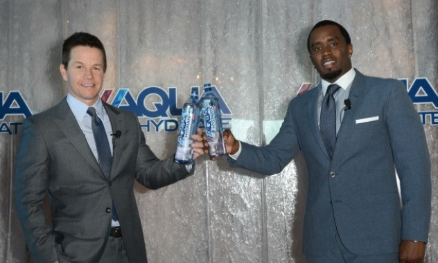Sean Combs and Mark Wahlberg Launch Revolutionary New Performance Water, Aquahydrate