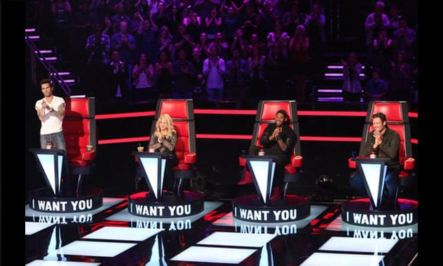 Usher and Shakira's Coaching Debut For The Season 4 Premiere Of The Voice