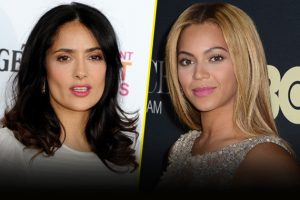 Salma Hayek & Beyonce Partner For New Female Empowerment Campaign 'Chime for Change' 1