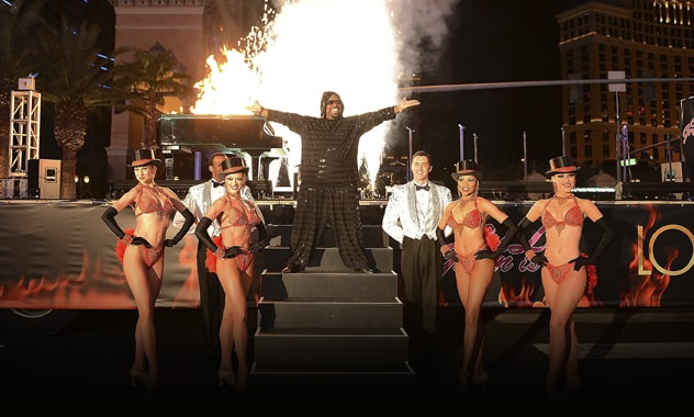 CeeLo Green Ignites Las Vegas Strip In Anticipation Of His New Residency At Planet Hollywood Resort & Casino