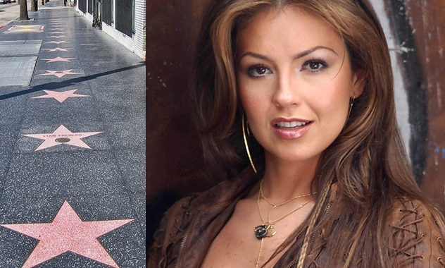 Thalia Gets Star On Hollywood Walk Of Fame