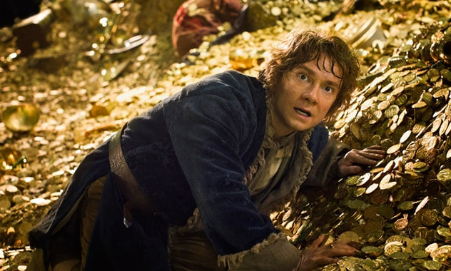 "First ""The Hobbit""  Film In Trilogy Breaks $1 Billion"