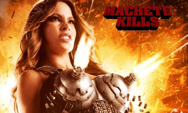 'Machete Kills' Poster Reveal - Sofia Vergara As New Film's Femme Fatale