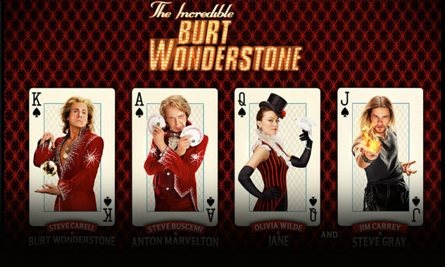 The Incredible Burt Wonderstone  Prize Pack Giveaway