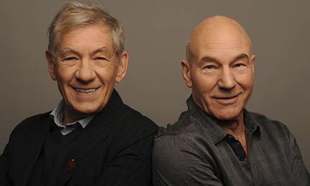 Ian McKellen To Officiate Patrick Stewart's Wedding