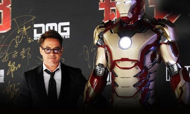 [UPDATED] - Robert Downey Jr. World Tour & Movie Clip- IRON MAN 3  2