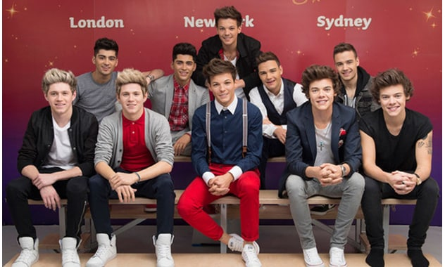 Madam Tussauds Reveals Realistic One-D Wax Figues In New Exhibit