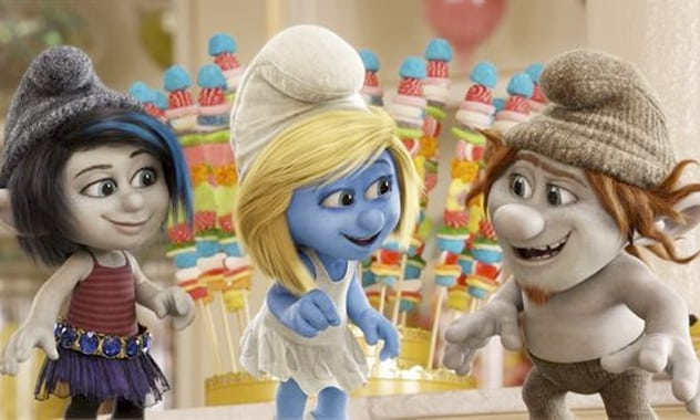 THE SMURFS 2 - BRITNEY SPEARS TO RELEASE NEW SONG ³OOH LA LA