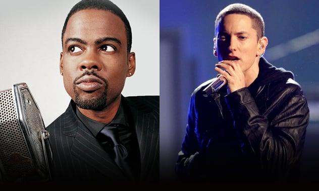 Chris Rock & Eminem? Comedian May Contribute To Rapper's Next Album  1