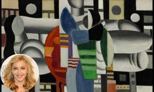 Madonna's Painting Sells Big: Fernand Leger Sells For $7 Million At auction
