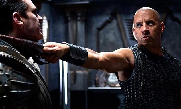 'Riddick' Trailer: Vin Diesel Is Still In The Dark