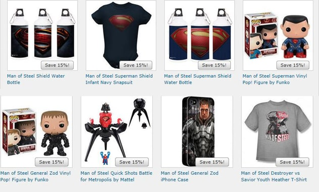 Warner Bros. Consumer Products Launches Out-Of-This-World Licensing Program For Man Of Steel