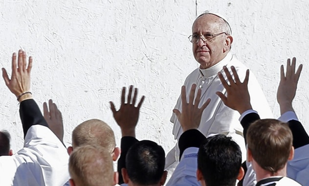 "Pope Francis told Journalists That ""Gay people should not be marginalised"""