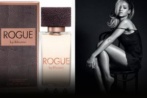 """Rihanna Unveils Gray Hair and New """"Rogue"""" Fragrance 2"""
