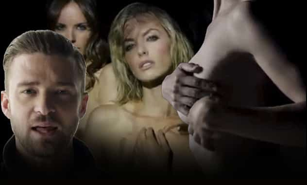 "Justin Timberlake's New Video ""Tunnel Vision"" Is Banned From YouTube For Explicit Nudity 1"