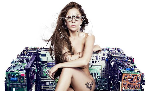 Lady Gaga Poses Nude for New Single, ARTPOP 2