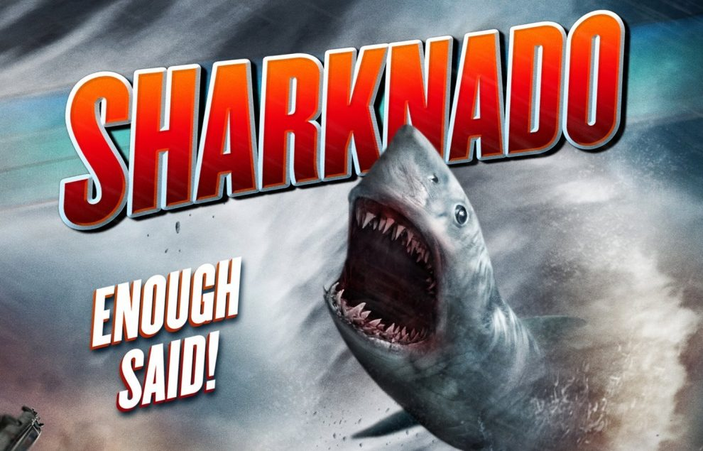 WHY!?! - SHARKNADO is Coming to Theaters in August. 2