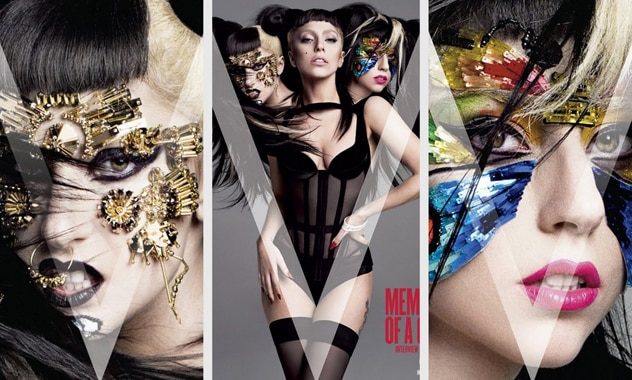 Lady Gaga Displays for V Magazine—Check Out All Her Newest Covers! 1