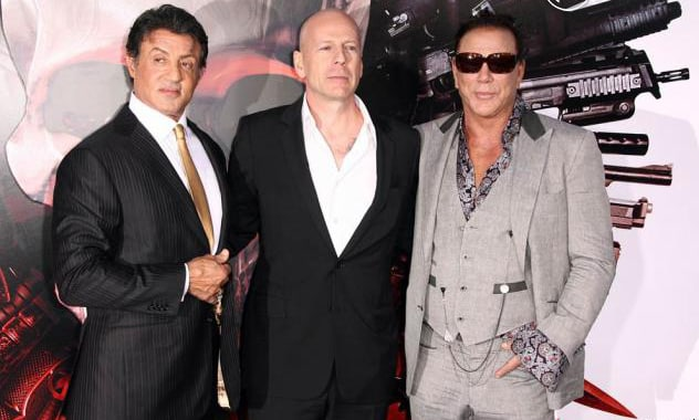 "Sylvester Stallone Slams Bruce Willis as ""Greedy and Lazy"" 3"