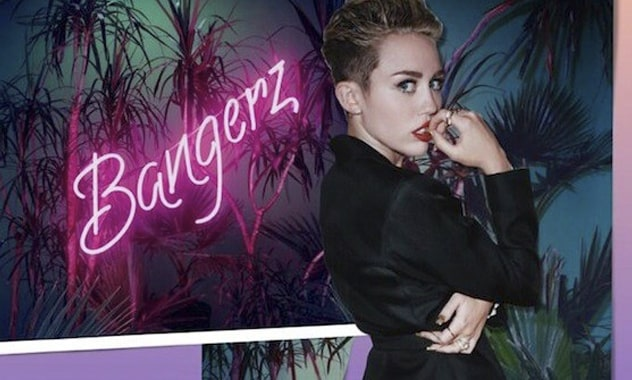 Miley Cyrus Instagrams New 'Bangerz' Album Cover 1