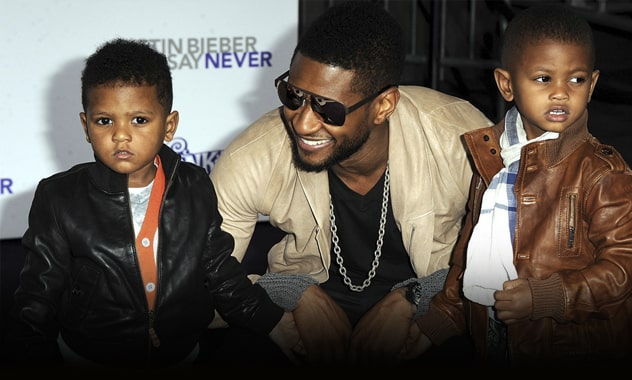 Usher Breaks Speaks Up About Son Nearly Drowning, Is Thankful To His Childs' Saviours 3