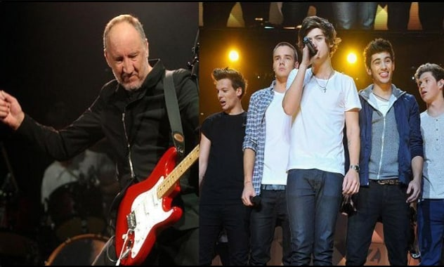 The Who & One Direction: Pete Townshend Fires Back  Over 'Best Song Ever' Drama