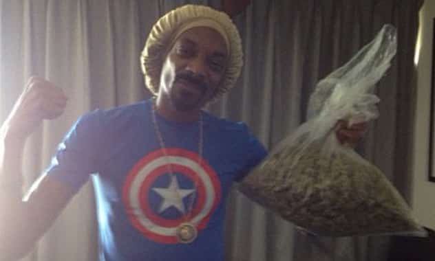 Snoop Lion Wins Pot Prize From Mayweather Fight  1