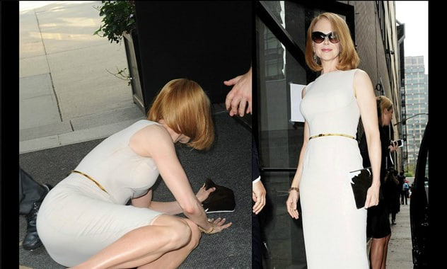 Nicole Kidman Gets Run Down by Paparazzo Outside Her Hotel