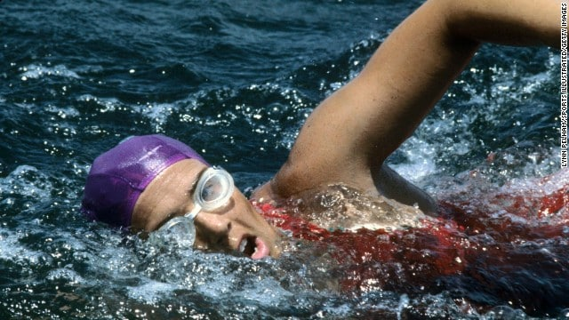 'Never, ever give up:' Diana Nyad Completes Nonstop Historic Swim From Cuba-to-Florida