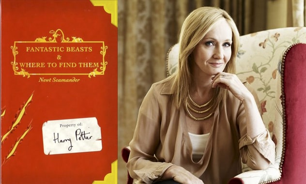 J.K. Rowling's Debuts New Movie Series With 'Harry Potter' Based On Spinoff