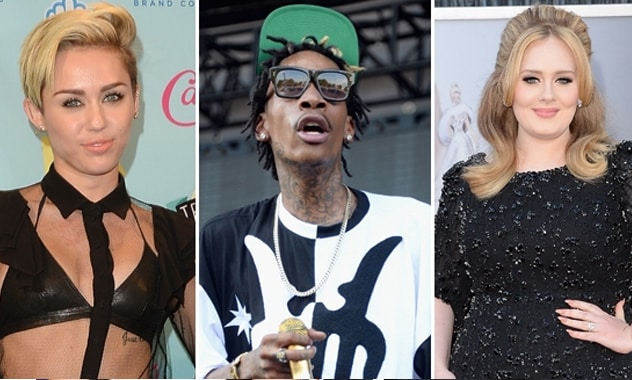 Wiz Khalifa Recorded With Miley & Adele For His Upcoming 'Blacc Hollywood' Album