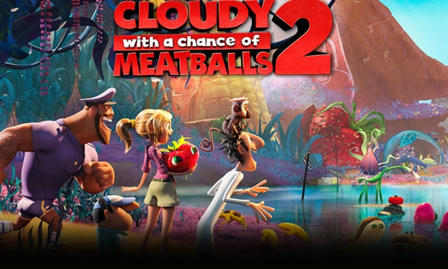 CLOSED-CLOUDY WITH A CHANCE OF MEATBALLS 2 - VIP Movie Pass Giveaway-CLOSED
