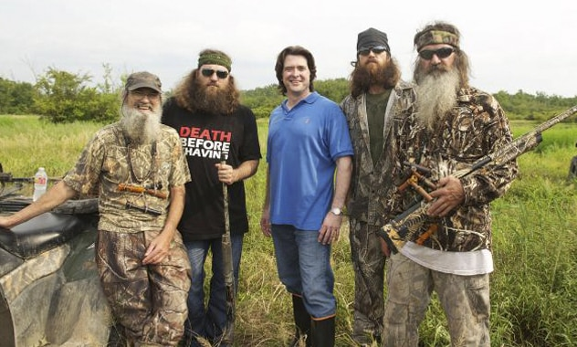 Duck Dynasty Stars Taking Over the Art World Redneck Style 2