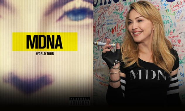 Madonna's MDNA Tour Blu-ray Is Being Recalled  2