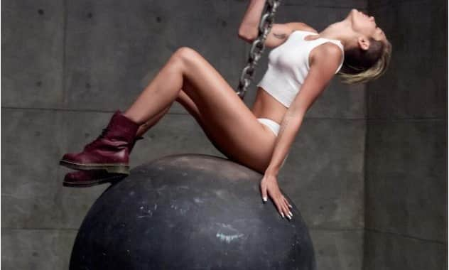 Miley Cyrus' 'Wrecking Ball' Video Makes Its Debut