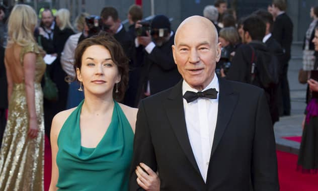 Patrick Stewart Marries Sunny Ozell In Ceremony Offficiated by His good Friend & Co-star Ian McKellen
