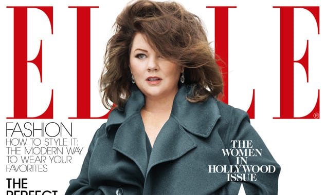 'Elle' Magazine Fires Back AgainstCriticism Over Melissa McCarthy Cover 2