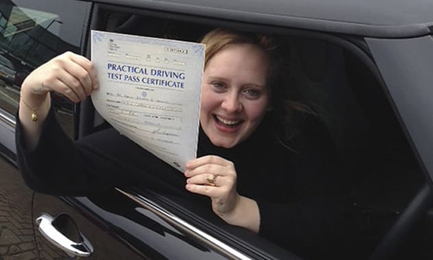 Adele Scores Pass On Getting Her Drivers' License 2