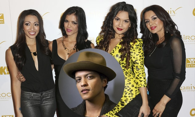 Family Duet? Bruno Mars' Four Singing Sisters Looking Forward To It
