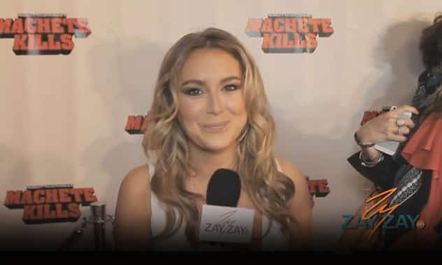 Alexa Vega - Machete Kills Red Carpet Miami - ZayZay.Com