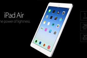Apple Introduces iPad Air, Retina Mini iPad, New Desktop Hardware