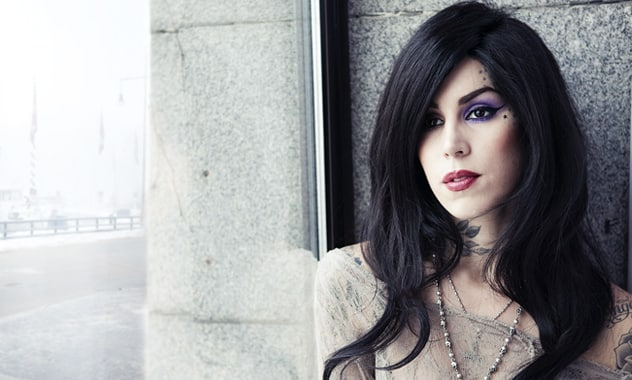 'Latina' Magazine Lines Up Kat Von  For Their November Issue