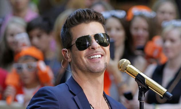 Marvin Gaye's Children Issue Lawsuit To Robin Thicke Over 'Blurred Lines'