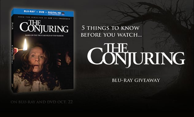 CLOSED-- The Conjuring Blu-Ray Giveaway and 5 Interactive GIFs--CLOSED