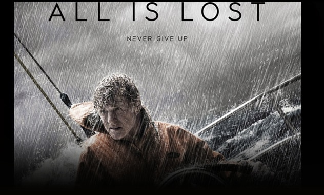 CLOSED--All Is Lost Movie Ticket Giveaway & Exclusive Blog App--CLOSED