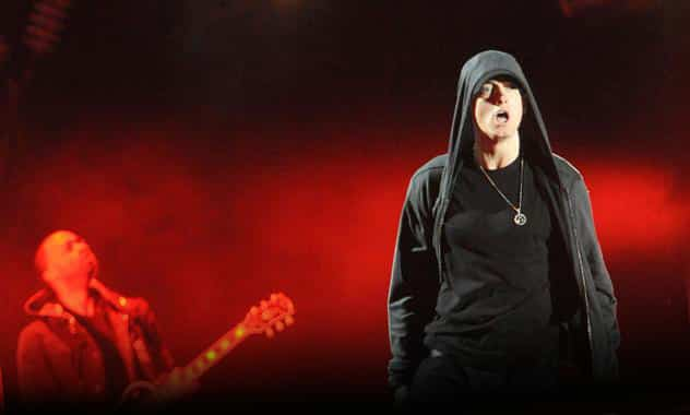 Eminem's 'Marshall Mathers LP 2' Tracklist Featuring Musical Guests Like Rihanna, Kendrick Lamar, Nate Ruess  1